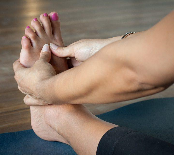 Złamanie paliczka u stopy